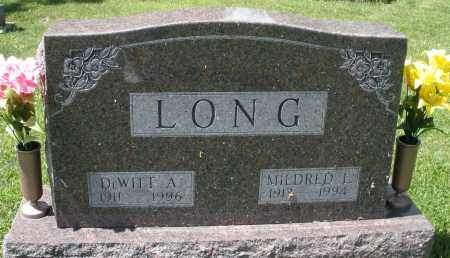 LONG, MILDRED L. - Montgomery County, Ohio | MILDRED L. LONG - Ohio Gravestone Photos