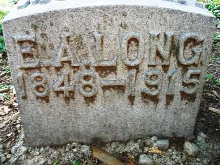 LONG, E. A. - Montgomery County, Ohio | E. A. LONG - Ohio Gravestone Photos