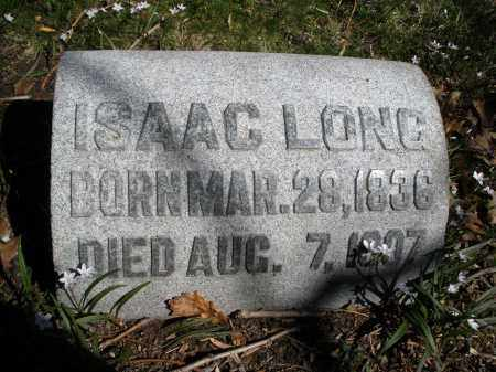 LONG, ISAAC - Montgomery County, Ohio | ISAAC LONG - Ohio Gravestone Photos