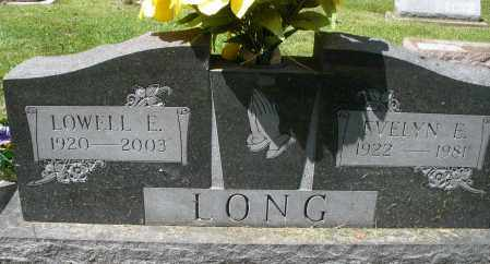 LONG, EVELYN E. - Montgomery County, Ohio | EVELYN E. LONG - Ohio Gravestone Photos