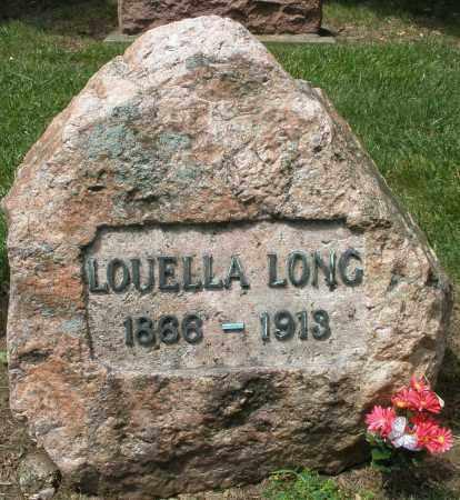LONG, LOUELLA - Montgomery County, Ohio | LOUELLA LONG - Ohio Gravestone Photos
