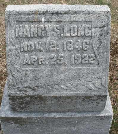 LONG, NANCY S. - Montgomery County, Ohio | NANCY S. LONG - Ohio Gravestone Photos