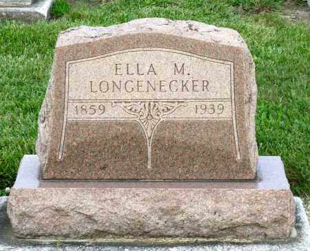 LONGNECKER, ELLA M. - Montgomery County, Ohio | ELLA M. LONGNECKER - Ohio Gravestone Photos