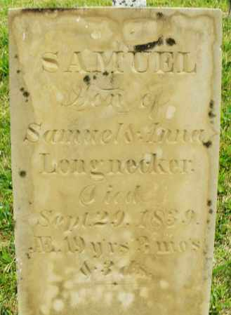 LONGNECKER, SAMUEL - Montgomery County, Ohio | SAMUEL LONGNECKER - Ohio Gravestone Photos