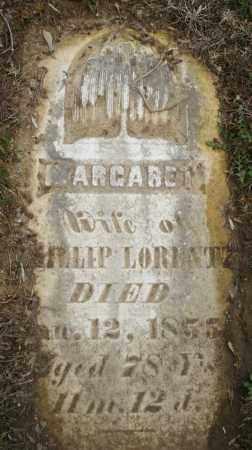 LORENTZ, MARGARET - Montgomery County, Ohio   MARGARET LORENTZ - Ohio Gravestone Photos