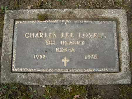 LOVELL, CHARLES LEE - Montgomery County, Ohio | CHARLES LEE LOVELL - Ohio Gravestone Photos