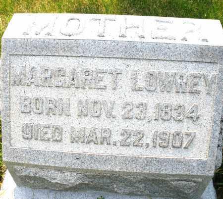 LOWREY, MARGARET - Montgomery County, Ohio | MARGARET LOWREY - Ohio Gravestone Photos