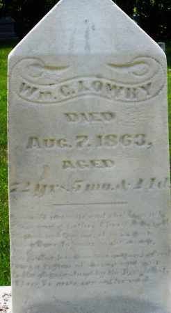 LOWREY, WILLIAM C. - Montgomery County, Ohio | WILLIAM C. LOWREY - Ohio Gravestone Photos