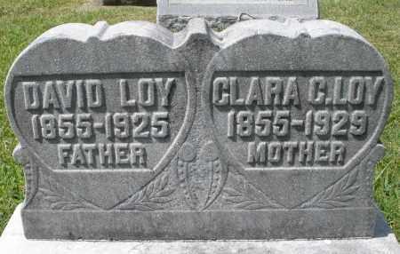 LOY, CLARA C. - Montgomery County, Ohio | CLARA C. LOY - Ohio Gravestone Photos