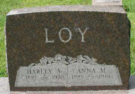 LOY, ANNA M. - Montgomery County, Ohio | ANNA M. LOY - Ohio Gravestone Photos