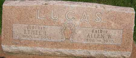 LUCAS, ETHEL LAVON - Montgomery County, Ohio | ETHEL LAVON LUCAS - Ohio Gravestone Photos