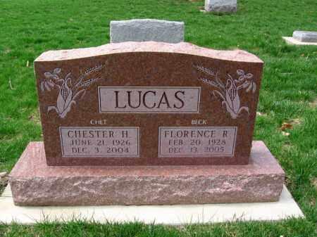 LUCAS, FLORENCE REBECCA - Montgomery County, Ohio | FLORENCE REBECCA LUCAS - Ohio Gravestone Photos