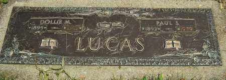 LUCAS, DOLLIE M - Montgomery County, Ohio | DOLLIE M LUCAS - Ohio Gravestone Photos