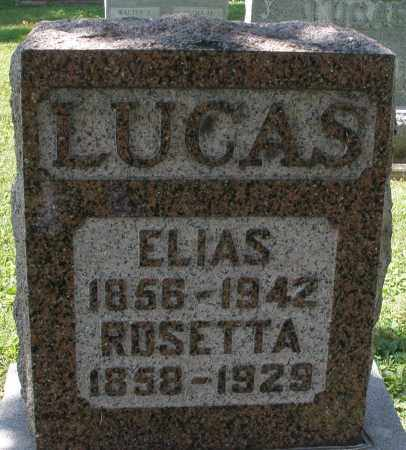 LUCAS, ELIAS - Montgomery County, Ohio | ELIAS LUCAS - Ohio Gravestone Photos