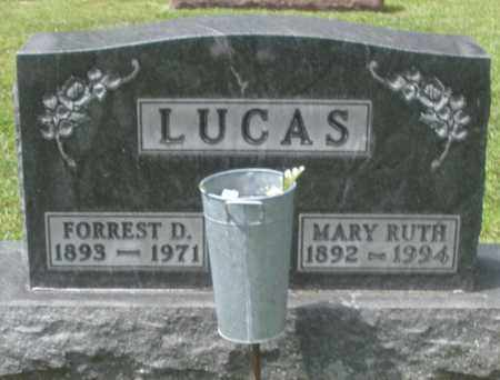 LUCAS, MARY RUTH - Montgomery County, Ohio | MARY RUTH LUCAS - Ohio Gravestone Photos