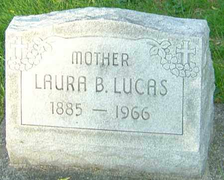 LUCAS, LAURA B - Montgomery County, Ohio | LAURA B LUCAS - Ohio Gravestone Photos
