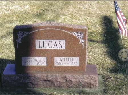 LUCAS, EDNA LUCILLE - Montgomery County, Ohio | EDNA LUCILLE LUCAS - Ohio Gravestone Photos