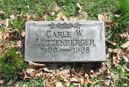 LUTZENBERGER, CARLE W. - Montgomery County, Ohio | CARLE W. LUTZENBERGER - Ohio Gravestone Photos