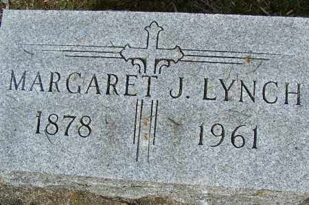 LYNCH, MARGARET J. - Montgomery County, Ohio | MARGARET J. LYNCH - Ohio Gravestone Photos