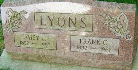 LYONS, DAISY L - Montgomery County, Ohio | DAISY L LYONS - Ohio Gravestone Photos