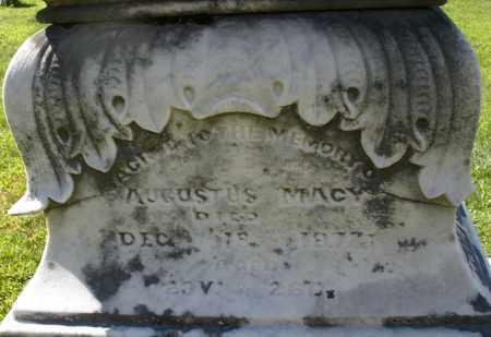 MACY, AUGUSTUS - Montgomery County, Ohio | AUGUSTUS MACY - Ohio Gravestone Photos