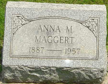 MAGGERT, ANNA M - Montgomery County, Ohio | ANNA M MAGGERT - Ohio Gravestone Photos