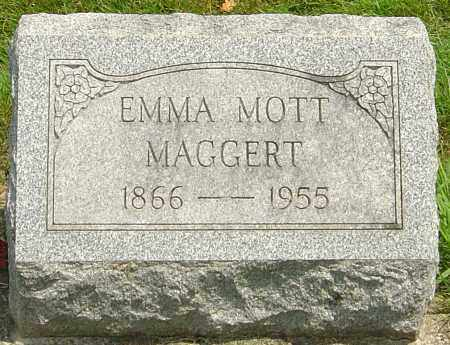 MOTT MAGGERT, EMMA CATHERINE - Montgomery County, Ohio | EMMA CATHERINE MOTT MAGGERT - Ohio Gravestone Photos