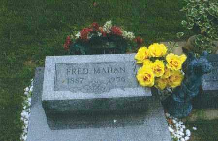 MAHAN, FRED - Montgomery County, Ohio | FRED MAHAN - Ohio Gravestone Photos