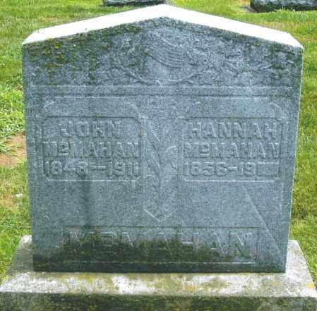 MAHAN/MCMAHAN, HANNAH MARIE - Montgomery County, Ohio | HANNAH MARIE MAHAN/MCMAHAN - Ohio Gravestone Photos