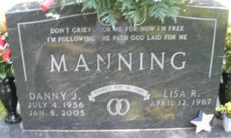 MANNING, DANNY J. - Montgomery County, Ohio | DANNY J. MANNING - Ohio Gravestone Photos