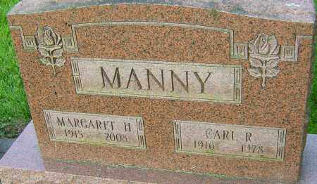 MANNY, MARGARET H - Montgomery County, Ohio | MARGARET H MANNY - Ohio Gravestone Photos