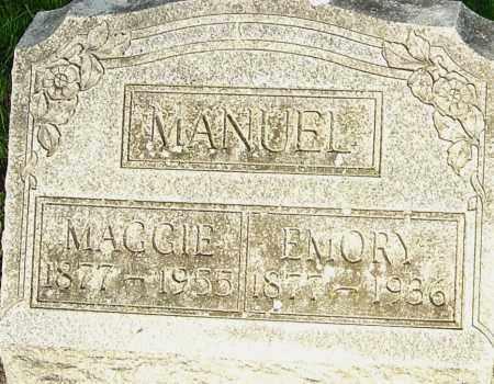 MANUEL, EMORY - Montgomery County, Ohio | EMORY MANUEL - Ohio Gravestone Photos