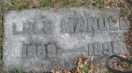 MANUEL, LULU - Montgomery County, Ohio | LULU MANUEL - Ohio Gravestone Photos