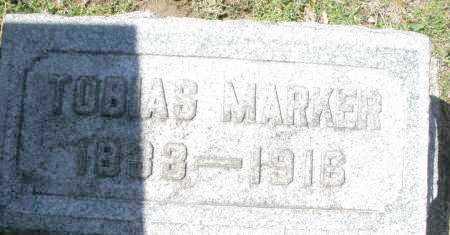 MARKER, TOBIAS - Montgomery County, Ohio | TOBIAS MARKER - Ohio Gravestone Photos