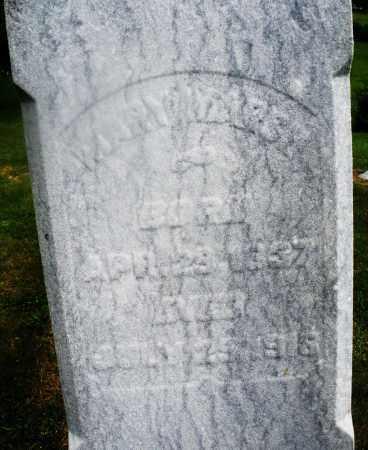 MARSH, MARY - Montgomery County, Ohio | MARY MARSH - Ohio Gravestone Photos