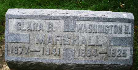 MARSHALL, WASHINGTON G. - Montgomery County, Ohio | WASHINGTON G. MARSHALL - Ohio Gravestone Photos