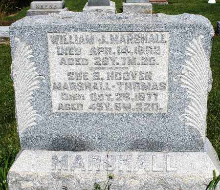 HOOVEN MARSHALL/THOMAS, SUE B - Montgomery County, Ohio | SUE B HOOVEN MARSHALL/THOMAS - Ohio Gravestone Photos