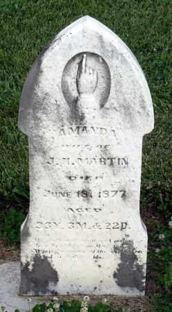 MARTIN, AMANDA - Montgomery County, Ohio | AMANDA MARTIN - Ohio Gravestone Photos
