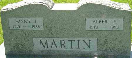 MARTIN, MINNIE J - Montgomery County, Ohio | MINNIE J MARTIN - Ohio Gravestone Photos