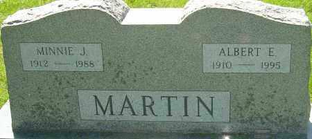 MARTIN, ALBERT E - Montgomery County, Ohio | ALBERT E MARTIN - Ohio Gravestone Photos