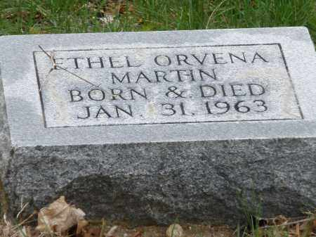 MARTIN, ETHEL ORVENA - Montgomery County, Ohio | ETHEL ORVENA MARTIN - Ohio Gravestone Photos