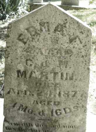 MARTIN, ERMA - Montgomery County, Ohio | ERMA MARTIN - Ohio Gravestone Photos