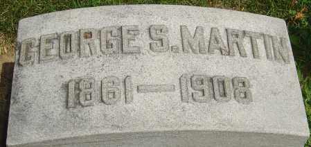 MARTIN, GEORGE S - Montgomery County, Ohio | GEORGE S MARTIN - Ohio Gravestone Photos