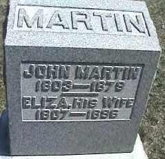 MARTIN, ELIZABETH - Montgomery County, Ohio | ELIZABETH MARTIN - Ohio Gravestone Photos