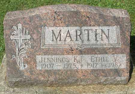MARTIN, JENNINGS K. - Montgomery County, Ohio | JENNINGS K. MARTIN - Ohio Gravestone Photos