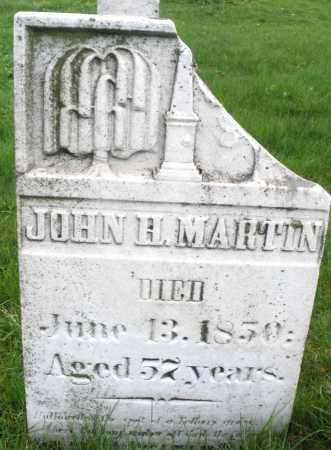 MARTIN, JOHN H. - Montgomery County, Ohio | JOHN H. MARTIN - Ohio Gravestone Photos