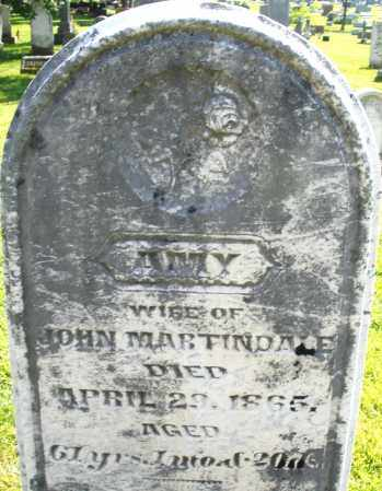 MARTINDALE, AMY - Montgomery County, Ohio | AMY MARTINDALE - Ohio Gravestone Photos