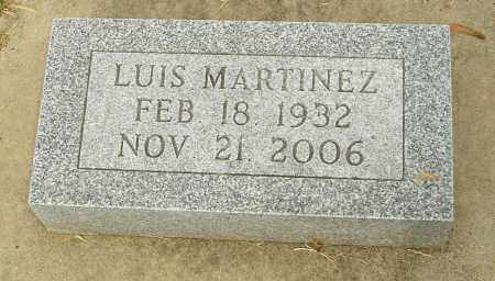 MARTINEZ, LUIS - Montgomery County, Ohio | LUIS MARTINEZ - Ohio Gravestone Photos