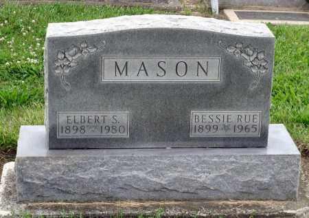 MASON, ELBERT S. - Montgomery County, Ohio | ELBERT S. MASON - Ohio Gravestone Photos