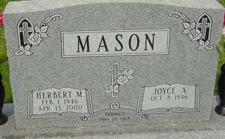 MASON, HERBERT M - Montgomery County, Ohio | HERBERT M MASON - Ohio Gravestone Photos